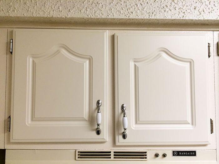 puertas de gabetas desiguales