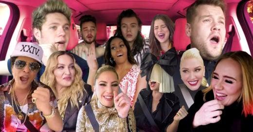 Mezcló todo Carpool Karaoke y el video es lo que necesitabas para iniciar el 2017