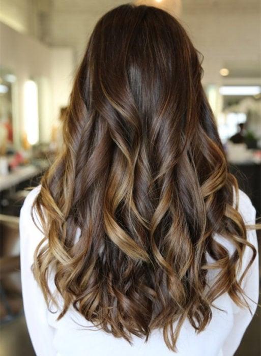 cabello con balayage