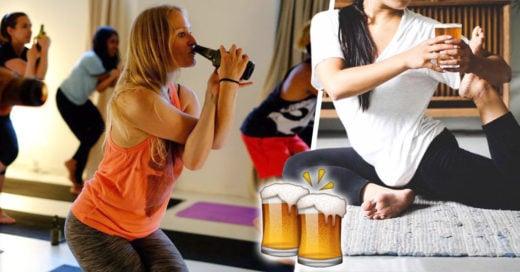 Beer Yoga, la forma perfecta de ejercitarte y beber sin remordimiento