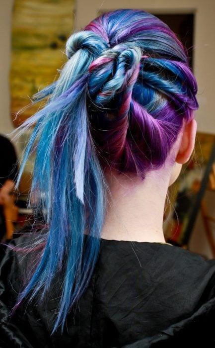 cabello colores unicornio