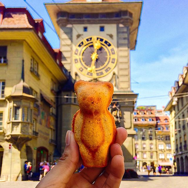 Oso de pan de suiza