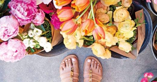 Chicas, ¡cómprense ustedes sus flores y sus chocolates!