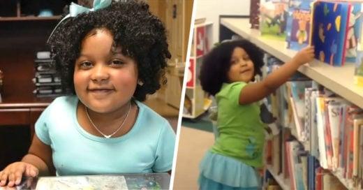 Conoce a la pequeña de 4 años que ya leyó más de mil libros
