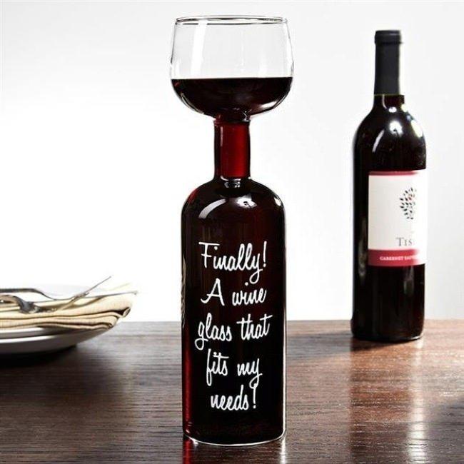 copa con vino incluido