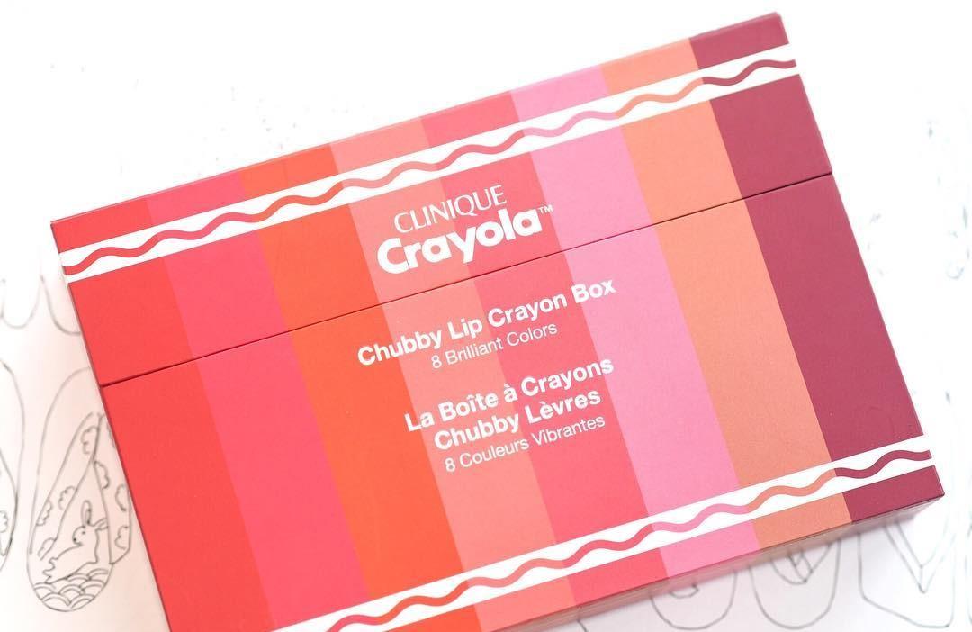 Crayola y Clinique lanzan labiales de colores increíbles