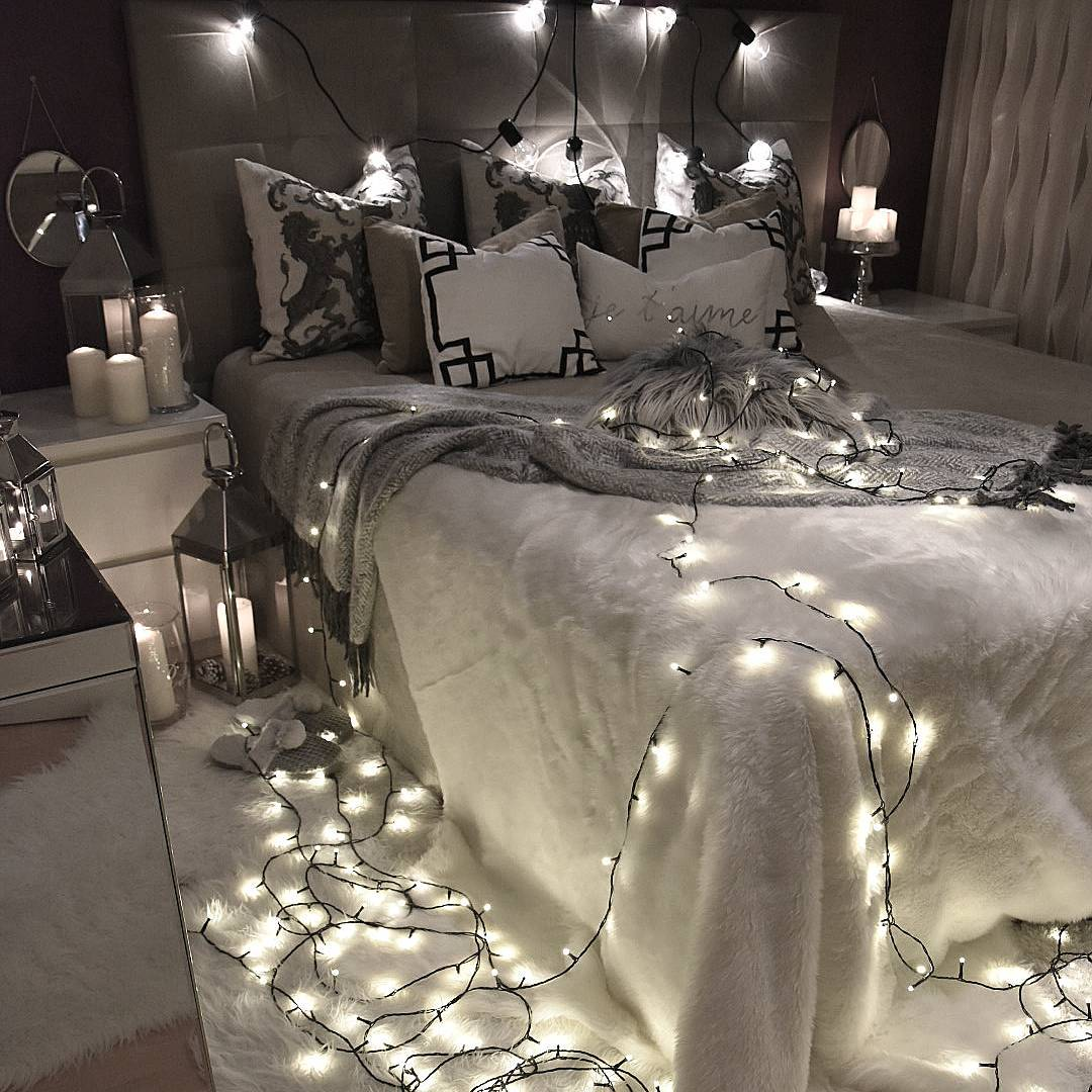 Estas 10 ideas har n de tu dormitorio un lugar diferente - Decoracion con luces ...