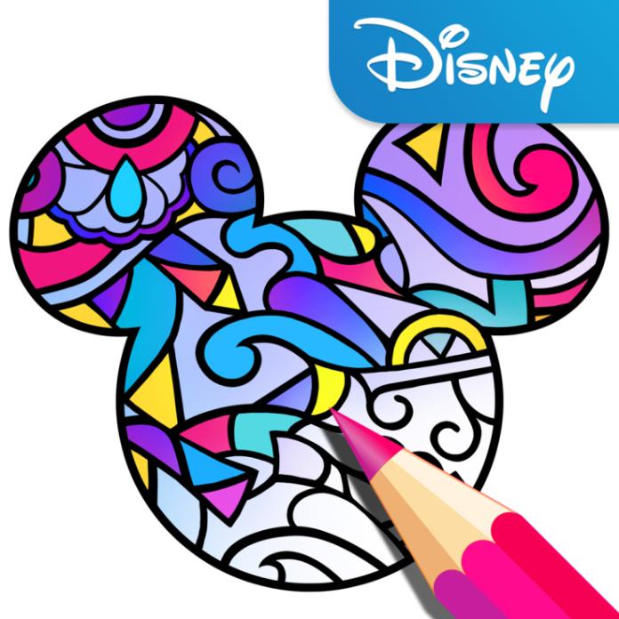Disney lanza su propia app para que te llenes de color