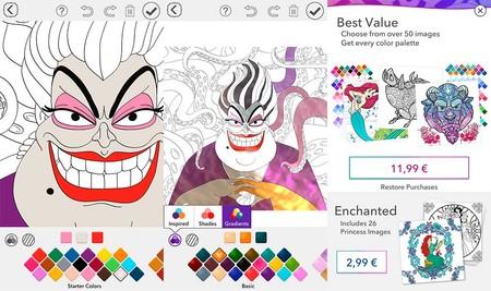 aplicación de Disney Ursula