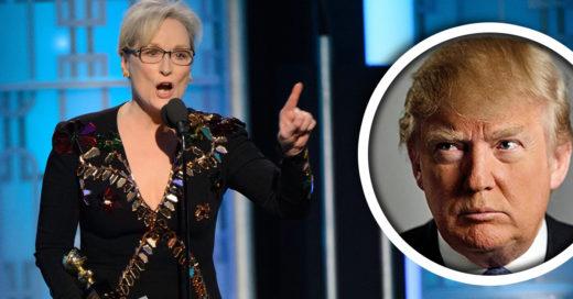 Meryl Streep conmueve con un poderoso discurso en los Golden Globes e incomoda a Trump