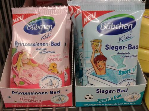 Esponjas de baño