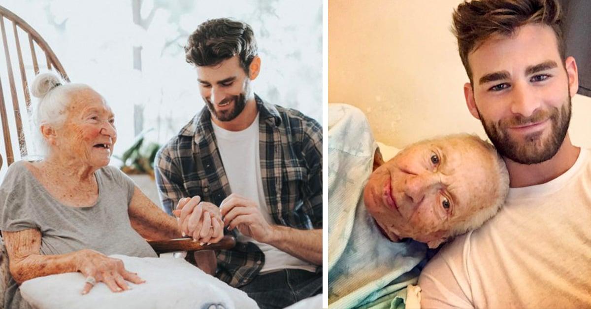 Ator traz vizinha idosa com doença terminal para morar na casa dele e receber cuidados