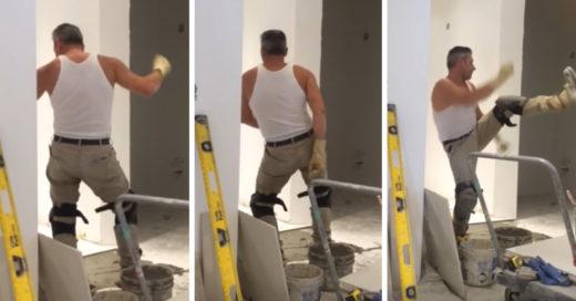 Este trabajador de la construcción es lo más sexy que verás hoy