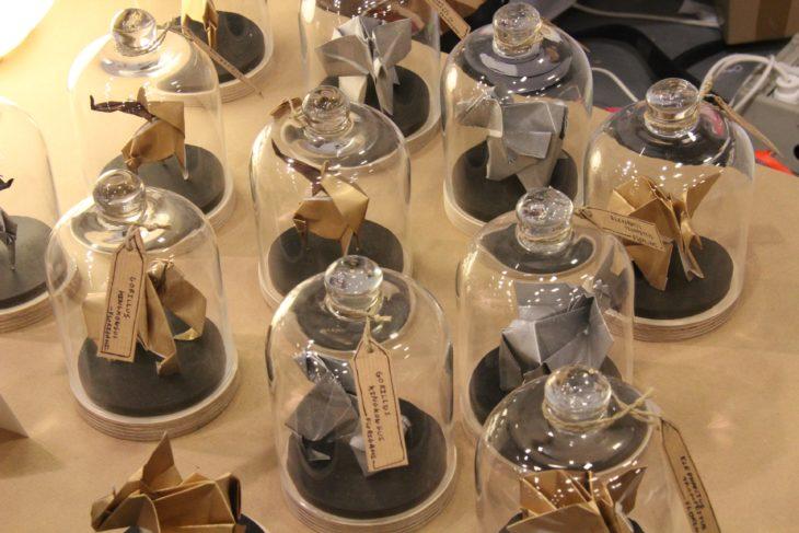 colección de figuras de origami