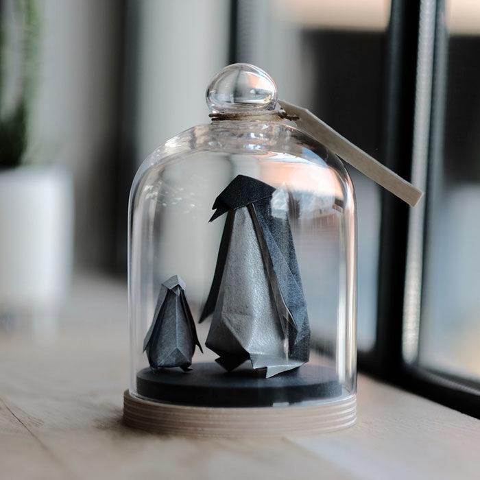 pinguinos de origami