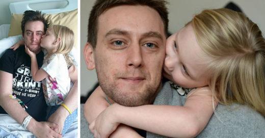 La enternecedora carta de un padre moribundo a su hija enferma de cáncer