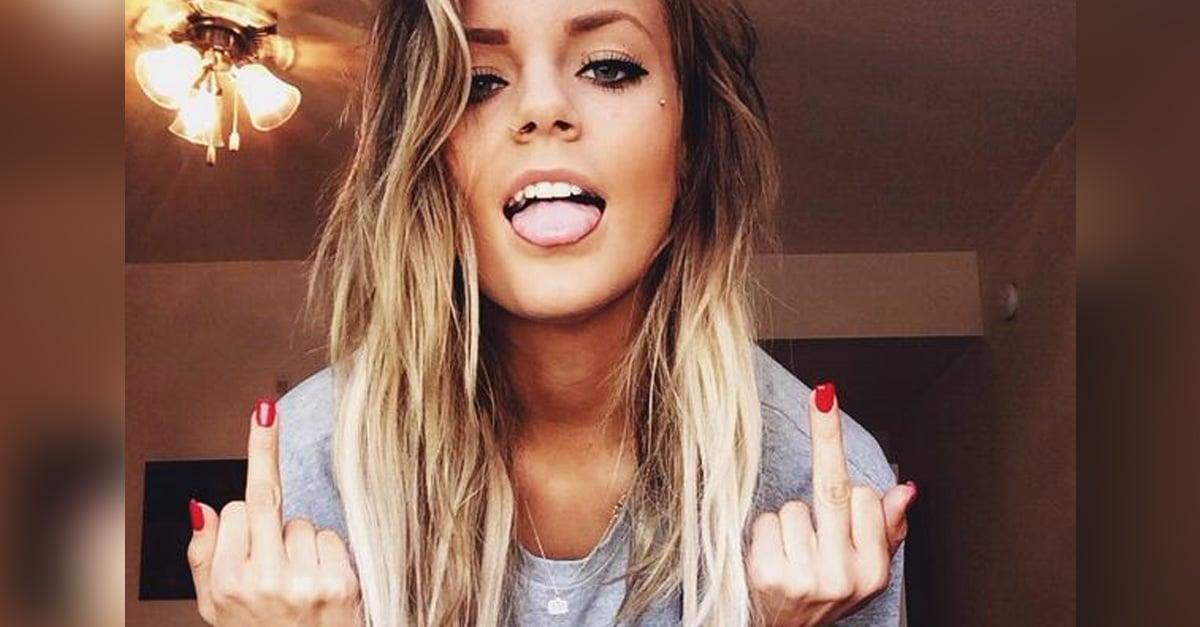Las chicas que dicen groserías son más felices