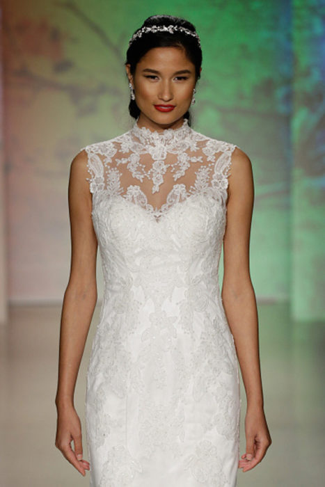 Vestido de novia inspirado en la princesa Mulán