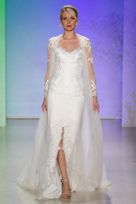Vestido de novia inspirado en la princesa Elsa