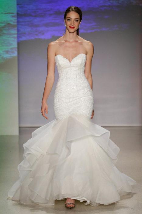 Vestido de novia inspirado en la princesa Ariel