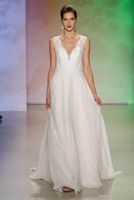 Vestido de novia inspirado en la princesa Aurora