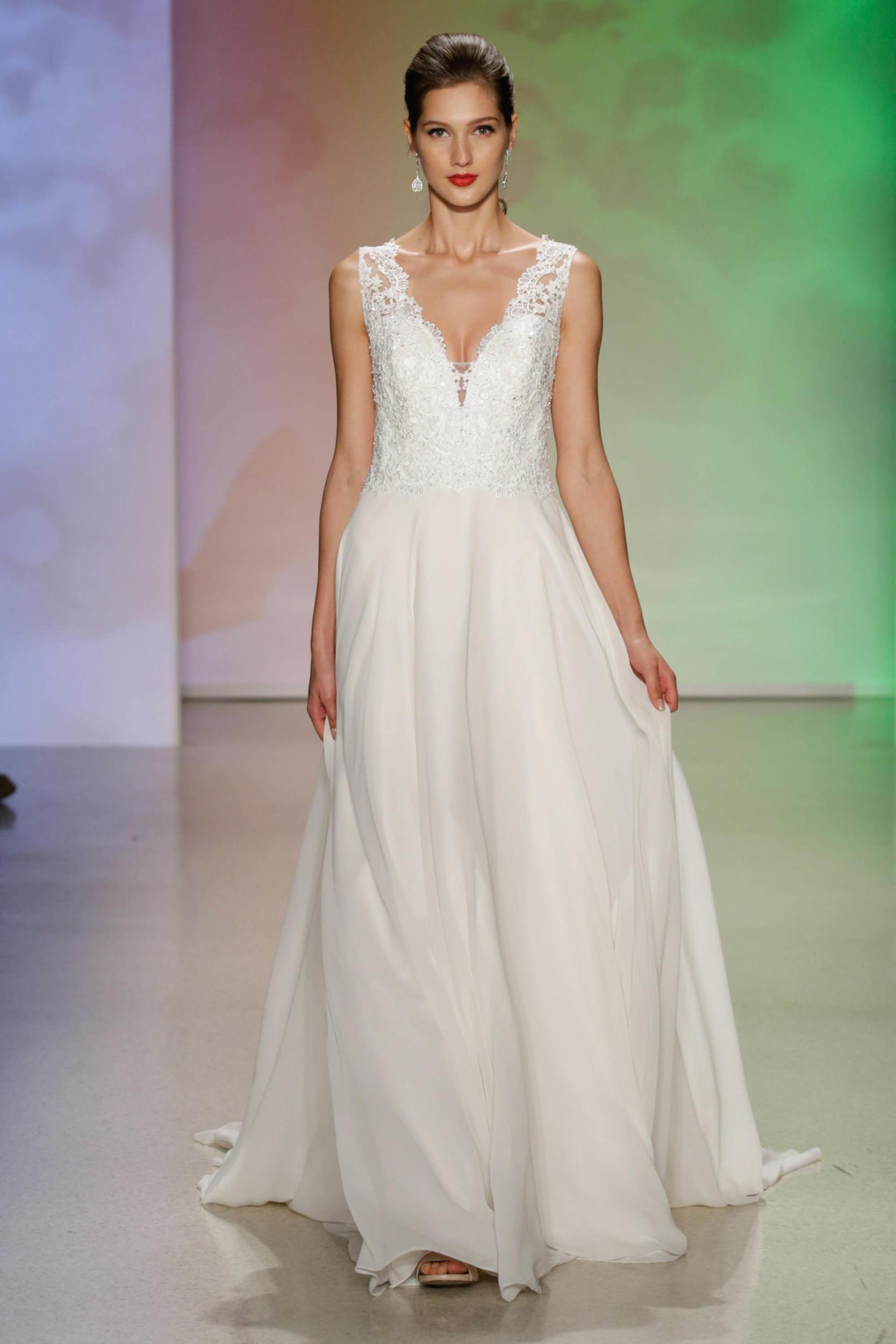 Vestido de novia princesa bella