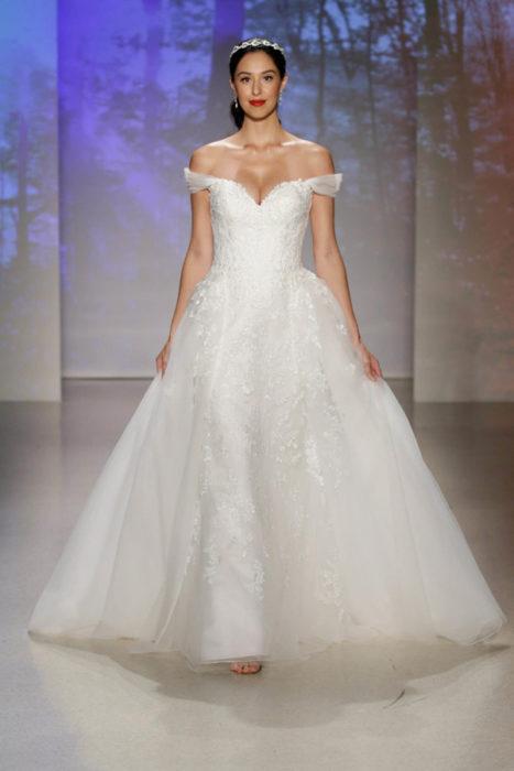 Vestido de novia inspirado en la princesa Blanca Nieves