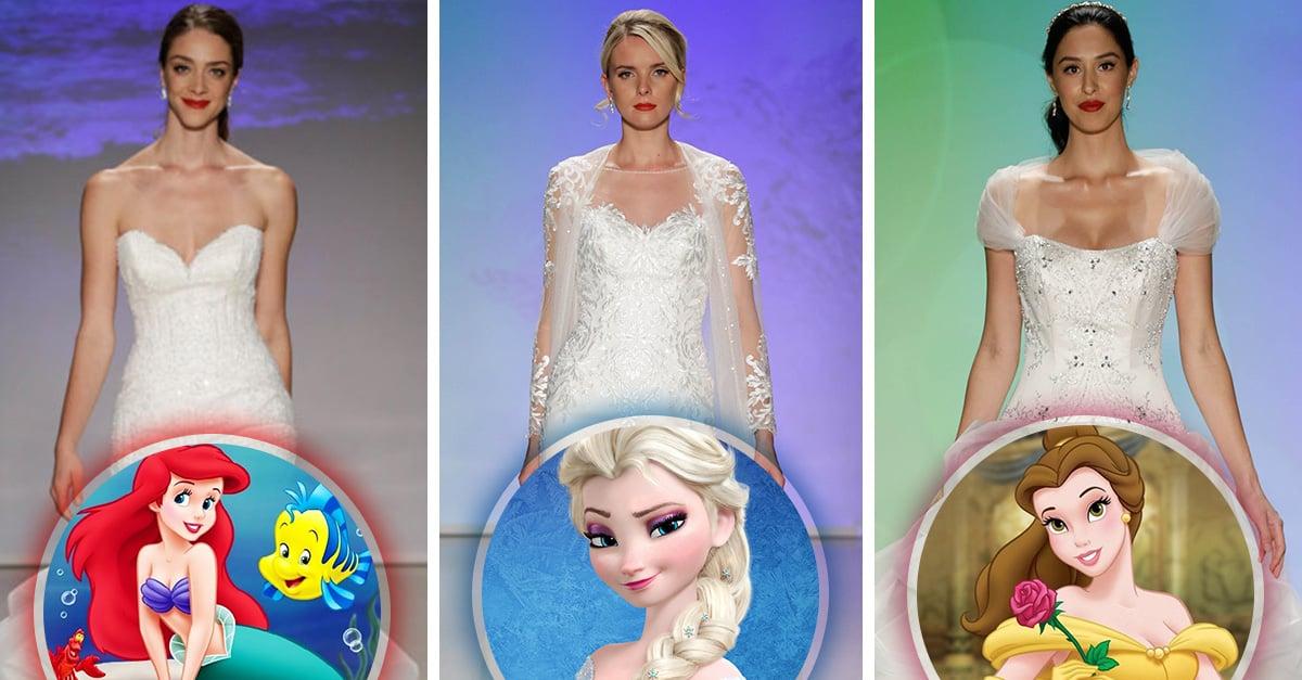 Las princesas de Disney se visten de novia ¡Increíble!