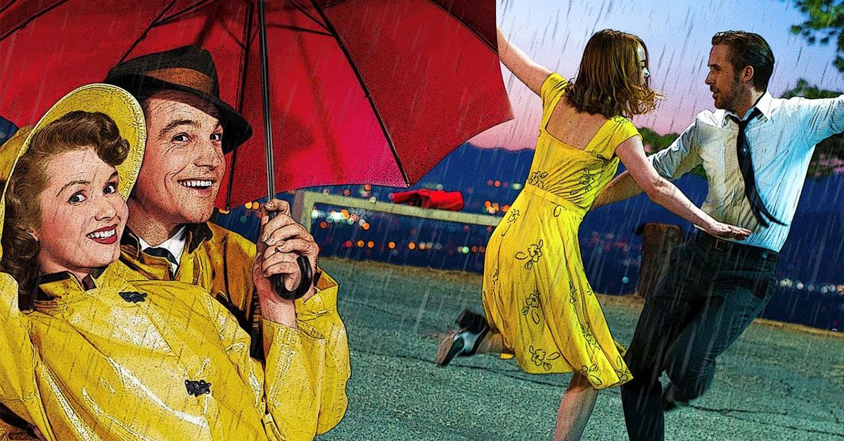 Mezclan 'La la land' y 'Singin' in the rain' , ¡el resultado es impresionante!