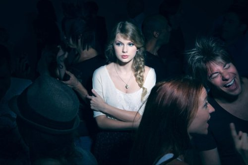 Taylor Swift alone