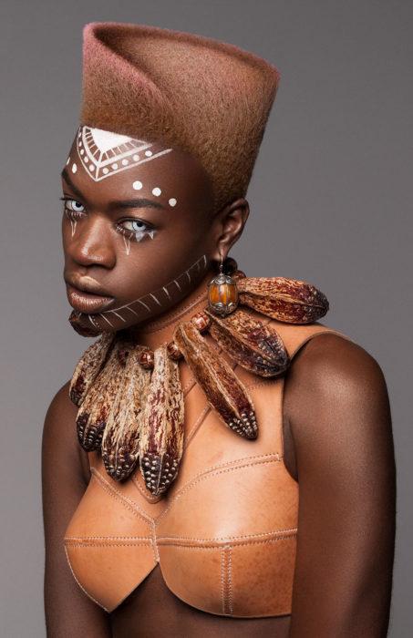 Colección ganadora de los premios british hair 2016