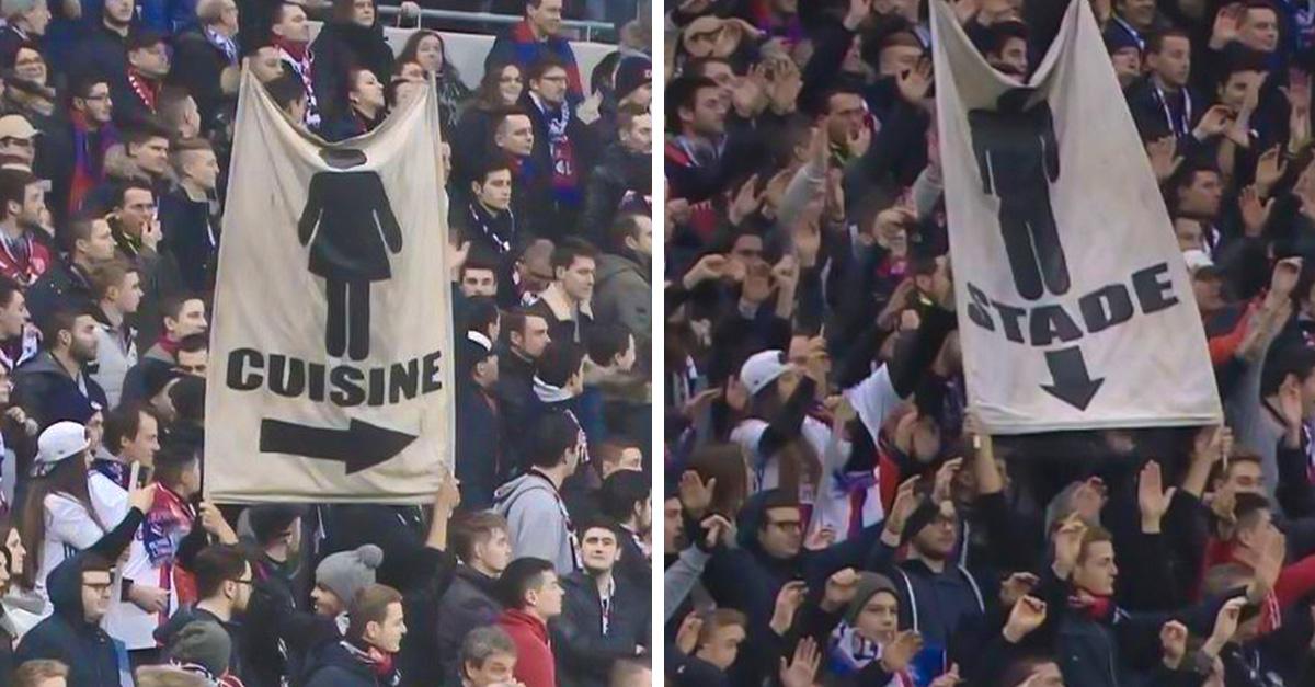 """""""Mujeres a la cocina, hombres al estadio"""", el mensaje machista del fútbol francés"""
