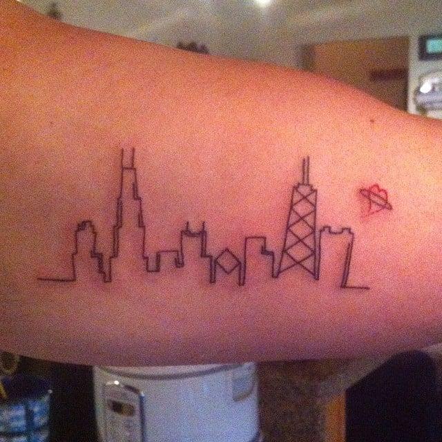 Tatuaje línea