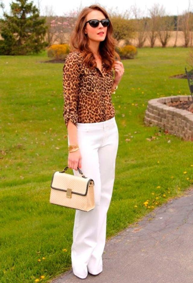 Tus El Pantalones Outfits Todo Año Blancos 12 Para Uses Que gybf67