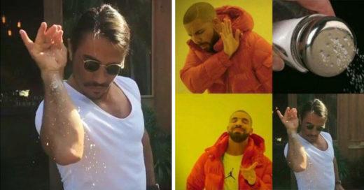 'Salt bae' abre nuestro apetito de memes y le pone la sal y pimienta al 2017