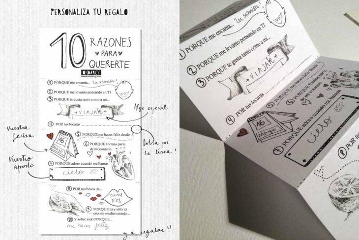 carta con frases para novio san valentin