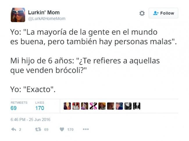 Tuits de padres con un tono sarcastico