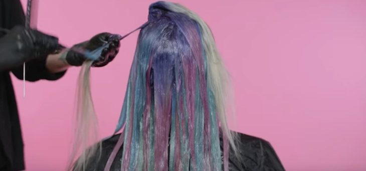 Tutorial sobre peinados de unicornio