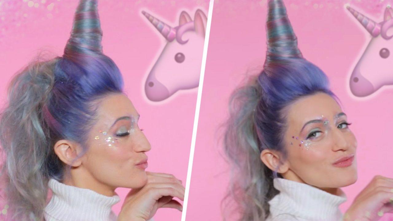 Una Nueva Tendencia Ha Resurgido El Cabello De Unicornio