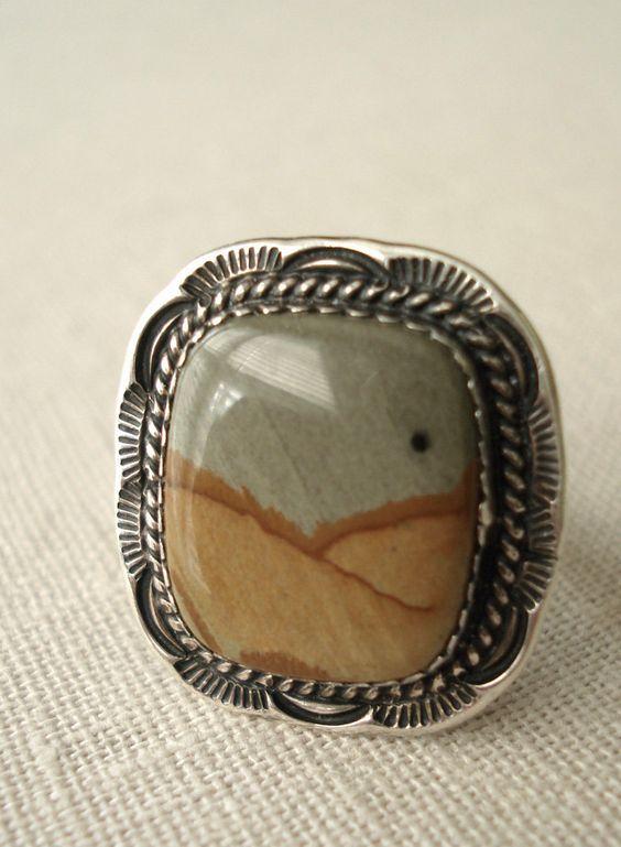 anillo de jaspe