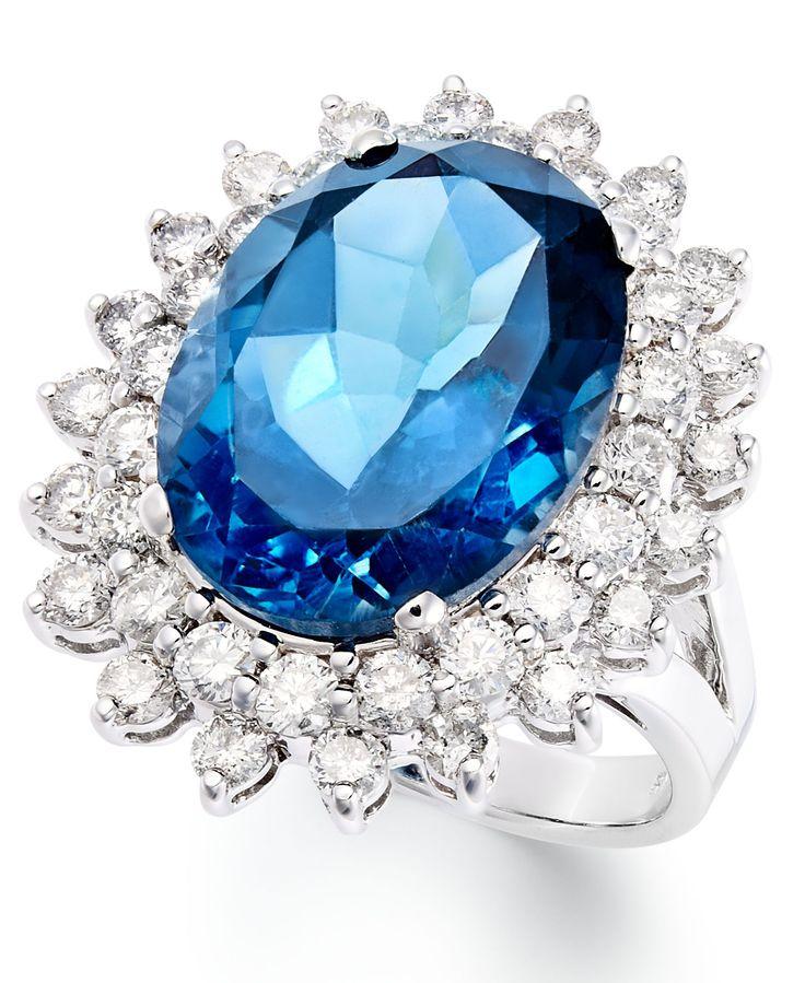 anillo de topacio