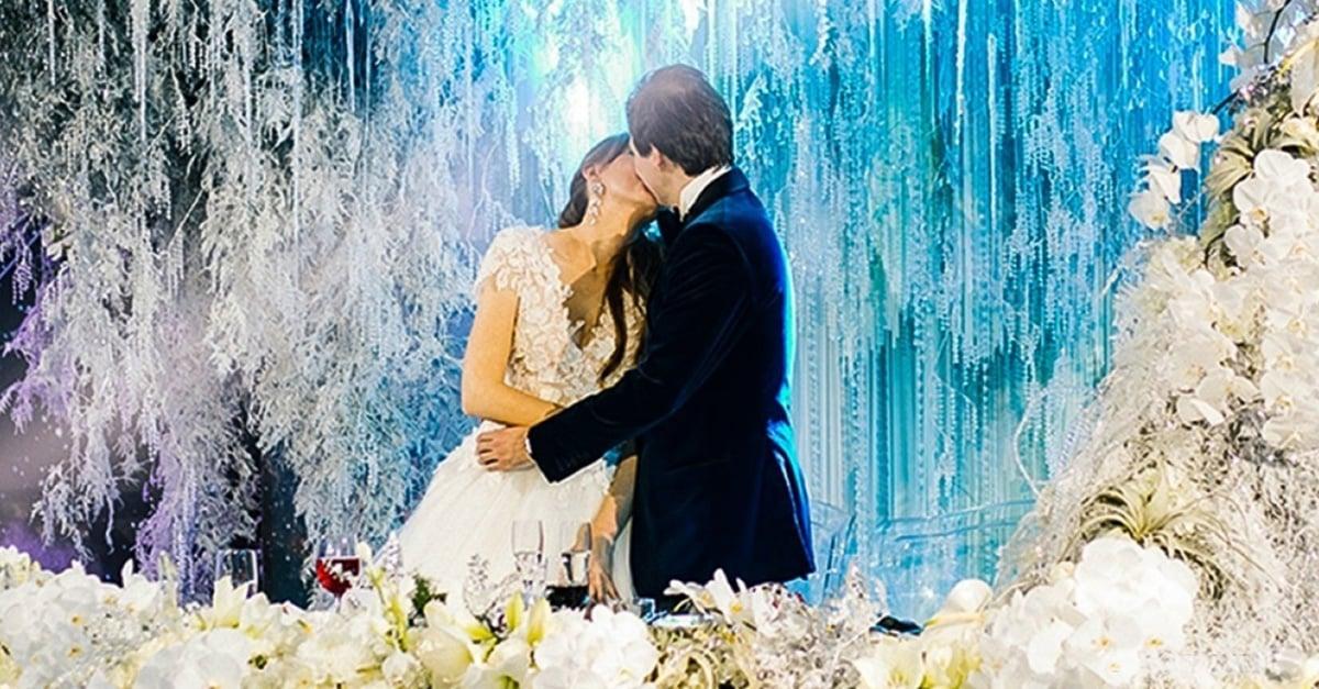 11 Fotos de una boda espacial en la cual trabajaron 400 personas
