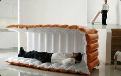 cama inflable portátil