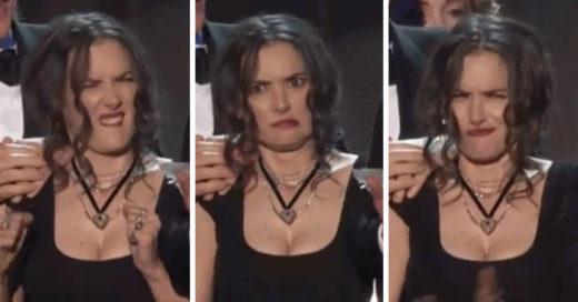 12 caras de Winona Ryder durante los SAG awards que describen tu vida a la perfección
