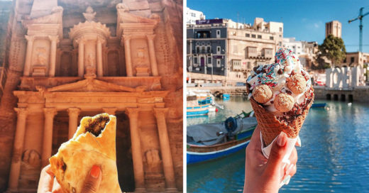 Esta chica ha viajado por el mundo para encontrar la mejor comida