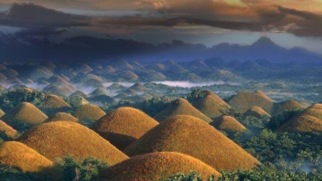 colinas de chocolate en filipinas 1