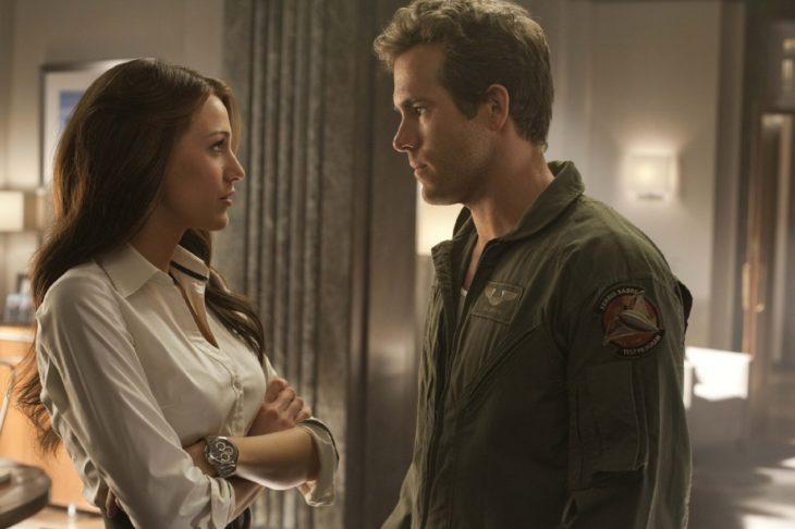 Ryan Reynolds y su esposa