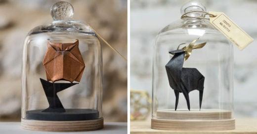15 hermosas y delicadas figuras de origami para decorar tu habitación