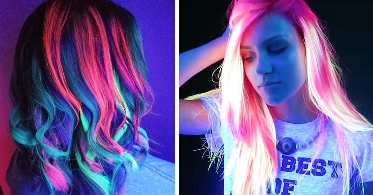 'Glow hair', la tendencia radical que hará brillar tu cabello
