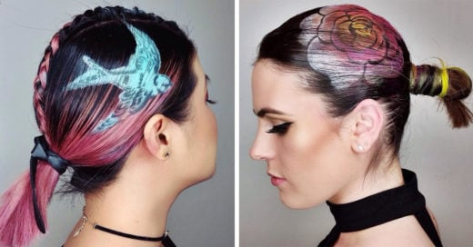 Hair Stencil la tendencia para cabello que se apodera de Instagram